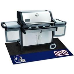 "Click here to learn more about the New York Giants Grill Mat 26""x42""."