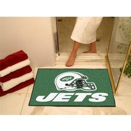 "Click here to learn more about the New York Jets All-Star Mat 33.75""x42.5""."