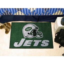"Click here to learn more about the New York Jets Starter Rug 20""x30""."