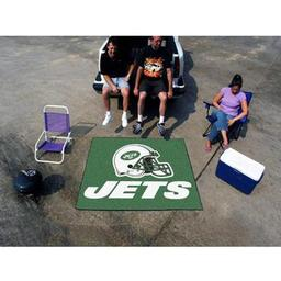 Click here to learn more about the New York Jets Tailgater Rug 5''x6''.