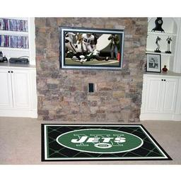 Click here to learn more about the New York Jets Rug 4''x6''.