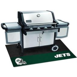 "Click here to learn more about the New York Jets Grill Mat 26""x42""."