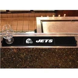 "Click here to learn more about the New York Jets Drink Mat 3.25""x24""."
