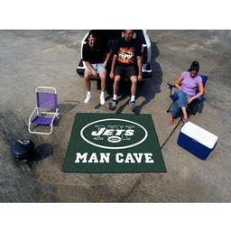 Click here to learn more about the New York Jets Man Cave Tailgater Rug 5''x6''.