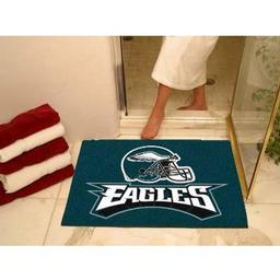"Click here to learn more about the Philadelphia Eagles All-Star Mat 33.75""x42.5""."