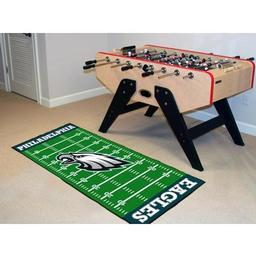 "Click here to learn more about the Philadelphia Eagles Runner 30""x72""."