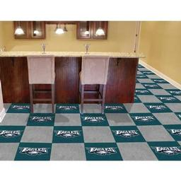 "Click here to learn more about the Philadelphia Eagles Carpet Tiles 18""x18"" tiles."