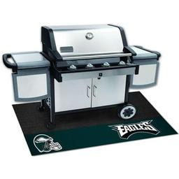 "Click here to learn more about the Philadelphia Eagles Grill Mat 26""x42""."