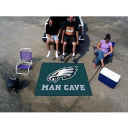 Click here to learn more about the Philadelphia Eagles Man Cave Tailgater Rug 5''x6''.