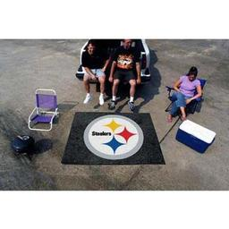 Click here to learn more about the Pittsburgh Steelers Tailgater Rug 5''x6''.