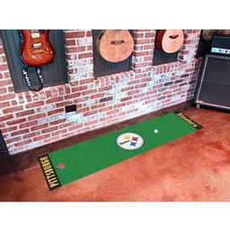 Click here to learn more about the Pittsburgh Steelers PuttingNFL - Green Runner.