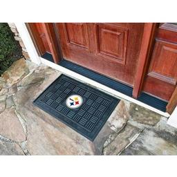 Click here to learn more about the Pittsburgh Steelers Medallion Door Mat.