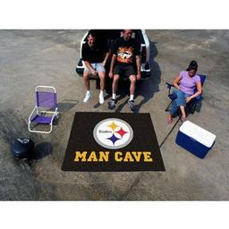 Click here to learn more about the Pittsburgh Steelers Man Cave Tailgater Rug 5''x6''.