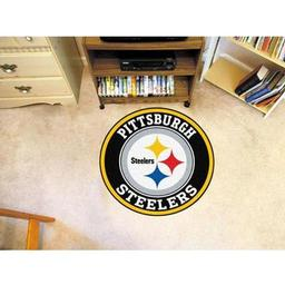 Click here to learn more about the Pittsburgh Steelers Roundel Mat.