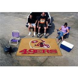 Click here to learn more about the San Francisco 49ers Ulti-Mat 5''x8''.