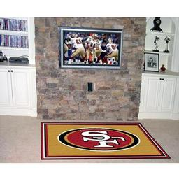 Click here to learn more about the San Francisco 49ers Rug 5''x8''.