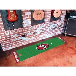 Click here to learn more about the San Francisco 49ers PuttingNFL - Green Runner.