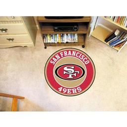 Click here to learn more about the San Francisco 49ers Roundel Mat.