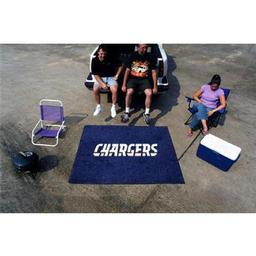Click here to learn more about the San Diego Chargers Tailgater Rug 5''x6''.