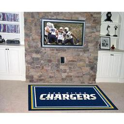 Click here to learn more about the San Diego Chargers Rug 5''x8''.