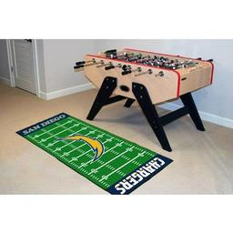 "Click here to learn more about the San Diego Chargers Runner 30""x72""."