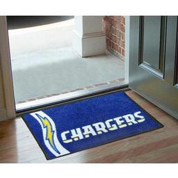 "Click here to learn more about the San Diego Chargers Uniform Inspired Starter Rug 20""x30""."