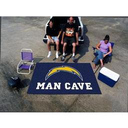Click here to learn more about the San Diego Chargers Man Cave UltiMat Rug 5''x8''.
