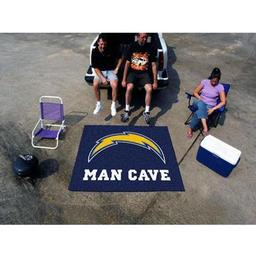 Click here to learn more about the San Diego Chargers Man Cave Tailgater Rug 5''x6''.