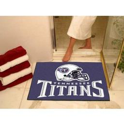 "Click here to learn more about the Tennessee Titans All-Star Mat 33.75""x42.5""."