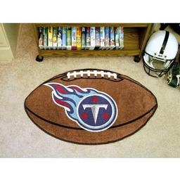 "Click here to learn more about the Tennessee Titans Football Rug 20.5""x32.5""."