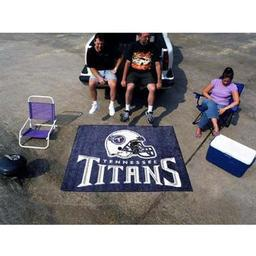 Click here to learn more about the Tennessee Titans Tailgater Rug 5''x6''.