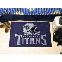 "Click here to learn more about the Tennessee Titans Starter Rug 20""x30""."