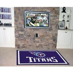 Click here to learn more about the Tennessee Titans Rug 5''x8''.