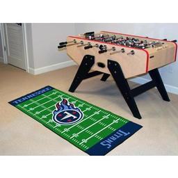"Click here to learn more about the Tennessee Titans Runner 30""x72""."