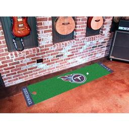 Click here to learn more about the Tennessee Titans PuttingNFL - Green Runner.