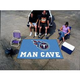 Click here to learn more about the Tennessee Titans Man Cave UltiMat Rug 5''x8''.