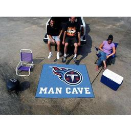 Click here to learn more about the Tennessee Titans Man Cave Tailgater Rug 5''x6''.