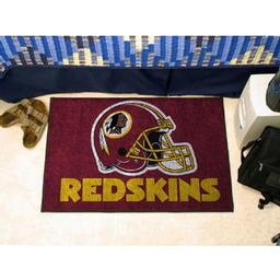 "Click here to learn more about the Washington Redskins Starter Rug 20""x30""."