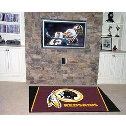 Click here to learn more about the Washington Redskins Rug 4''x6''.