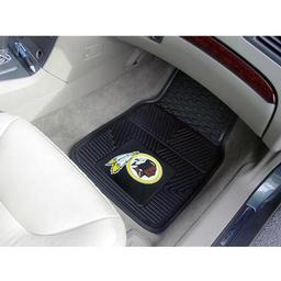 "Click here to learn more about the Washington Redskins Heavy Duty 2-Piece Vinyl Car Mats 17""x27""."
