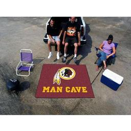 Click here to learn more about the Washington Redskins Man Cave Tailgater Rug 5''x6''.