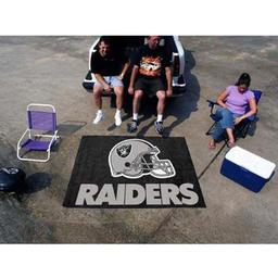 Click here to learn more about the Oakland Raiders Tailgater Rug 5''x6''.