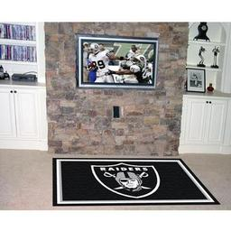 Click here to learn more about the Oakland Raiders Rug 4''x6''.