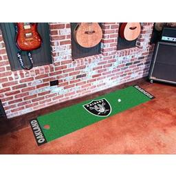 Click here to learn more about the Oakland Raiders PuttingNFL - Green Runner.