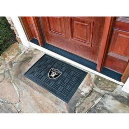 Click here to learn more about the Oakland Raiders Medallion Door Mat.