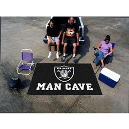 Click here to learn more about the Oakland Raiders Man Cave UltiMat Rug 5''x8''.