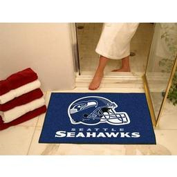 "Click here to learn more about the Seattle Seahawks All-Star Mat 33.75""x42.5""."