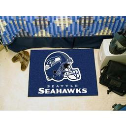 "Click here to learn more about the Seattle Seahawks Starter Rug 20""x30""."