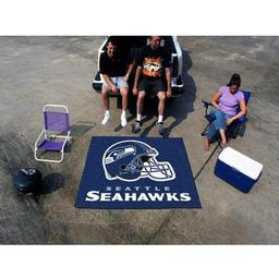 Click here to learn more about the Seattle Seahawks Tailgater Rug 5''x6''.