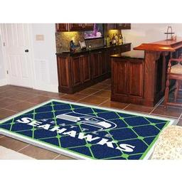 Click here to learn more about the Seattle Seahawks Rug 5''x8''.